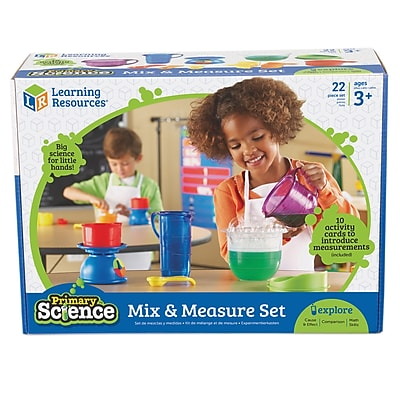 Learning Resources® Primary Science Mix & Measure Set, Grades PreK - 3