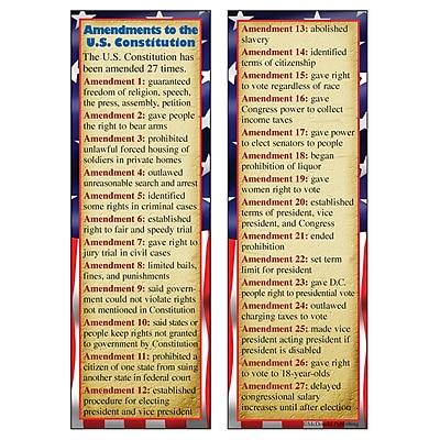 McDonald Publishing Smart Bookmarks, Constitutional Amendments