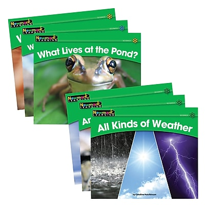 Newmark Learning® Rising Readers Leveled Books, Science Set, 24 Titles