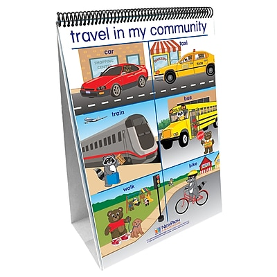 New Path My Community Early Childhood Social Studies Readiness Flip Chart, 12