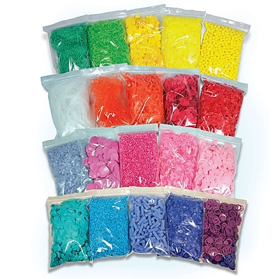 Roylco® Sensory Collage Kit, 20/Pack