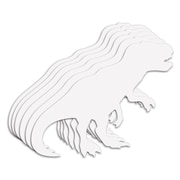 "Roylco® 22"" x 37"" Big Huge Dinosaur Fingerpaint Paper Shapes (R-75424)"