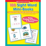 100 Sight Word Mini-Books Lisa Cestnik, Jay Cestnik Paperback