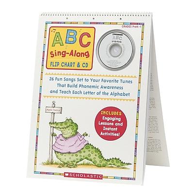 Scholastic Flip Charts, ABC Sing-Along Flip Chart & CD