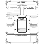 Scholastic Teaching Resources Activity Poster Sets, All-About-Me Web