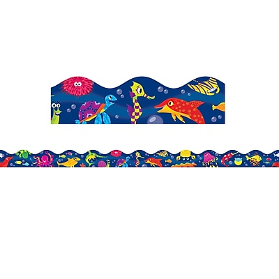 Scholastic Teaching Resources Ocean Life Scalloped Trimmer (36 x 2.25)