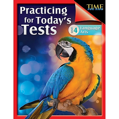TIME For Kids: Practicing for Today's Tests Language Arts Level 4, Paperback (51437)
