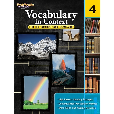 Vocabulary in Context for the Common Core™ Standards Grade 4