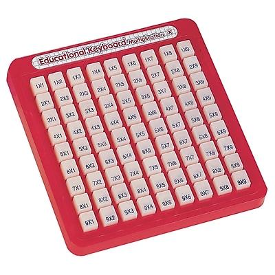 Small World Toys Math Keyboards, Multiplication
