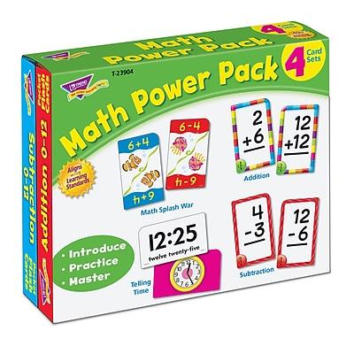 Math Power Pack, 224 card set (T23904)