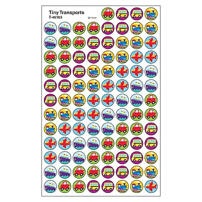 Trend superSpots Stickers, Tiny Transports