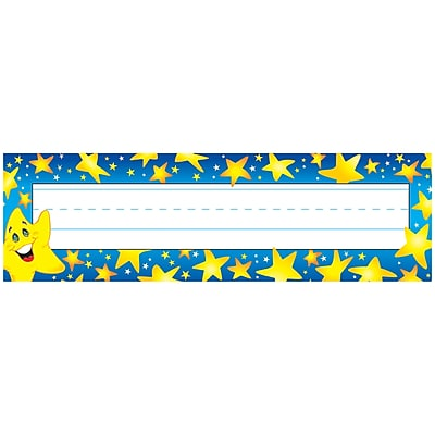 Super Stars Desk Toppers® Name Plates, 9-1/2