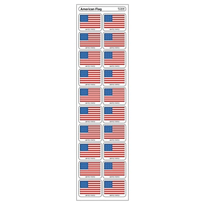 Trend Enterprises® Applause Stickers, American Flag