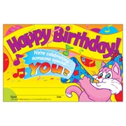 Trend Enterprises® Happy Birthday! Recognition Award, 30/Pack