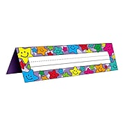"""Teacher Created Resources Tented Name Plates, 7"""" x 11 1/2"""", Happy Stars (TCR1941)"""
