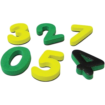 Teacher Created Resources Magnetic Foam: Small Numbers, Grades Preschool And Up, 60/Pack