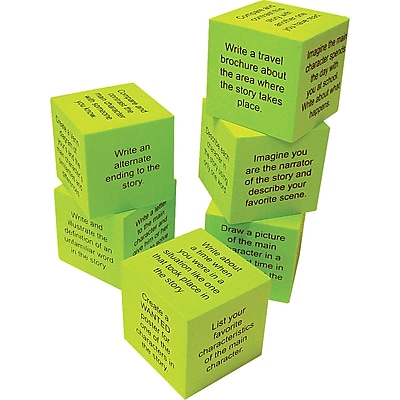Teacher Created Resources Foam Retell A Story Cubes