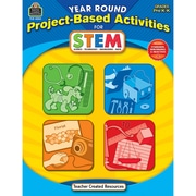 Teacher Created Resources® Yr Rnd Proj-Based Activities For Stem Book, Grades Prek-K