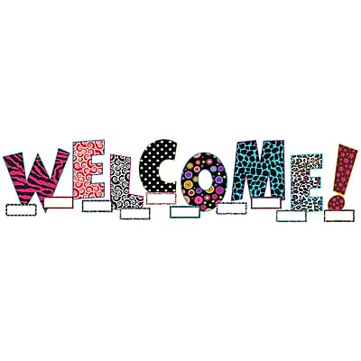 Teacher Created Resources® Bulletin Board Display Set, Welcome, 41/ST, 2 ST/BD
