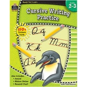 Teacher Created Resources® Ready-Set-Learn Cursive Writing Practice Book Grades 2nd - 3rd, 6 EA/BD