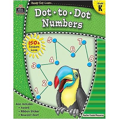 Ready•Set•Learn: Dot-to-Dot Numbers, Kindergarten