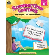 Teacher Created Resources® Summertime Learning Book, Grades 8th (TCR8848)