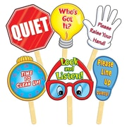 """Teacher's Friend TF-1298 12"""" x 8"""" Manage Your Class Signs Banner, Multicolor"""