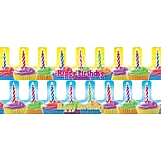 Teachers Friend Birthday Cupcake Crowns, 36/PK, 2 PK/BD