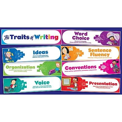 Traits of Writing Mini Bulletin Board