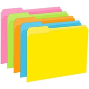 Top Notch Teacher Products® File Folder, Brite Colors