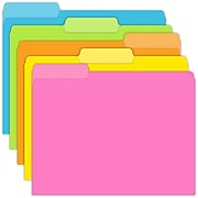 Top Notch Teacher Products® File Folder, Brite Colors