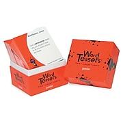 Word Teasers® Junior Flash Cards, Grade 2 -9, 150/Box