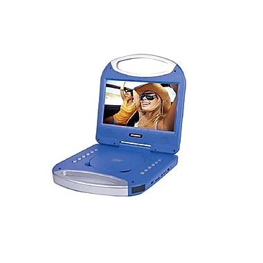 SYLVANIA – Lecteur de DVD de 10 po portable, avec poignée intégrée, bleu