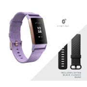 Fitbit Charge 3 SE Fitness Tracker, Lavender (FB410RGLV-CALA)