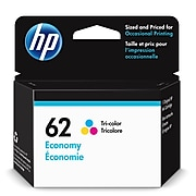 HP 62 Tri-Color Economy Ink Cartridge (1VV42AN)