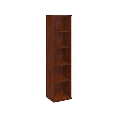 Bush Business Furniture Westfield Elite 18W 5 Shelf Bookcase, Hansen Cherry (XXXWC24412)