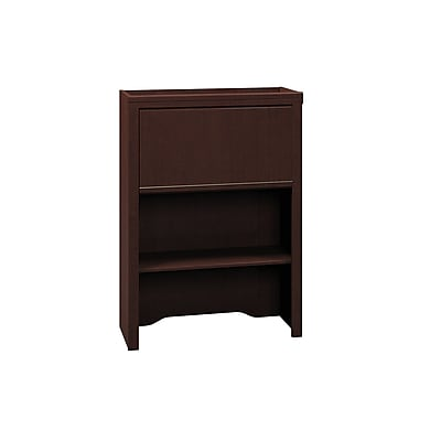 Bush Business Furniture Enterprise 30W Lateral File Cabinet Hutch, Mocha Cherry (2955MC-03)