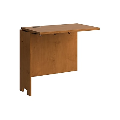 Bush Business Furniture Envoy 32W Desk Return, Natural Cherry (PR76315)