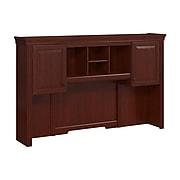 kathy ireland® Home by Bush Furniture Bennington Hutch, Harvest Cherry (WC65511-03)