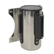 Wamaco Wall Mounted Barrier with Black Retractable Belt