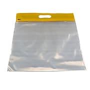 """Zipfile Storage Bags 25PK, Yellow, 14"""" x 13"""" (BOBZFH1413Y)"""
