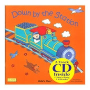Childs Play® Down By The Station Paperback Book with CD (PY9781904550686)