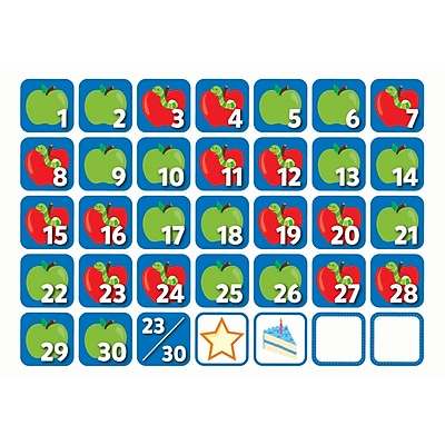 Creative Teaching Press September Seasonal Calendar Days, 36/Pack (CTP6133)