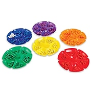 Learning Advantage® Flower Sorting Trays, Set of 6 Assorted Colors (CTU9660)
