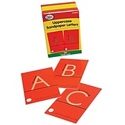 Didax Tactile Sandpaper Uppercase Letters, 26 count (DD-210830)