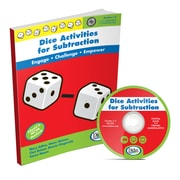 "Didax® ""Dice Activities For Subtraction"" Resource Book, Grades 1 - 3 (DD-211222)"