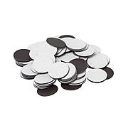 "Dowling Magnets 0.75""(Dia) Adhesive Magnet Dots, Black (DO-735007BN)"