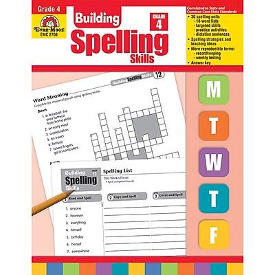Evan-Moor® Building Spelling Skills, Grade 4