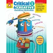 Evan-Moor® Critical and Creative Thinking Activities Teacher Resource Book, Grades 5th (EMC3395)