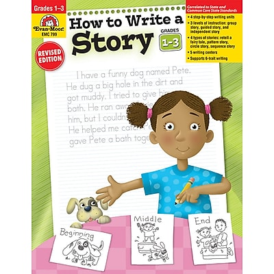 Evan-Moor® How to Write A Storybook, Grades 1st - 3rd